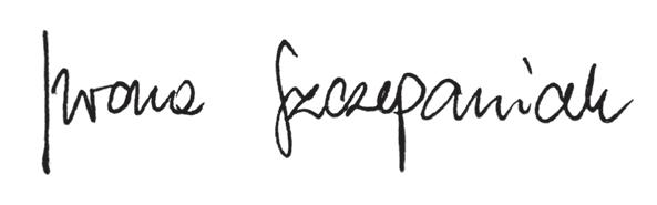podpis iwony