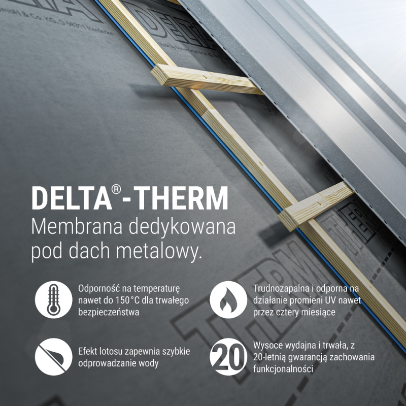 delta - therm membrany dachowe