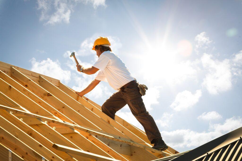 Budowa dachu idomu
