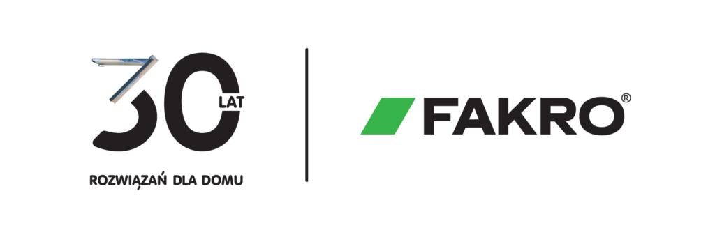 logo polskiej firmy Fakro