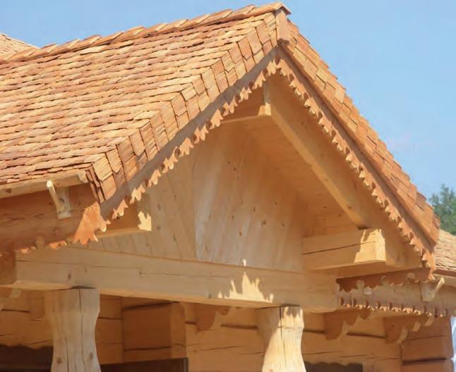 gont drewniany dach